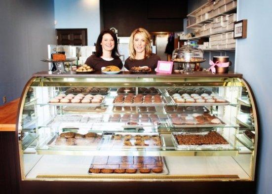 Sweet Freedom Bakery - inside
